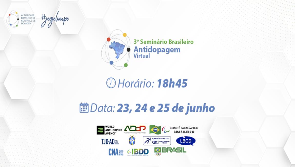 3º Seminário Brasileiro Antidopagem