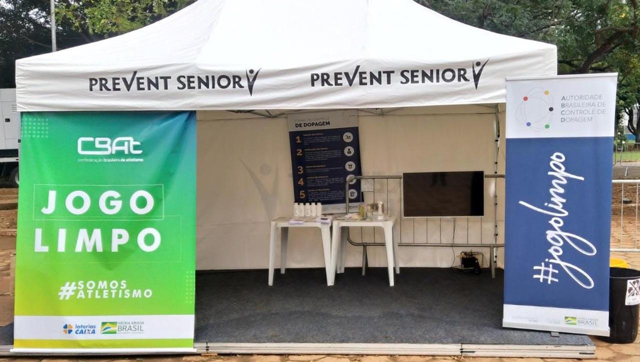 Com tenda que simulava uma estação de controle de dopagem, Autoridade Brasileira atendeu a mais de 200 participantes do evento