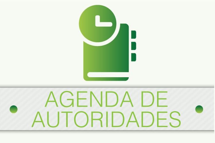 Agenda de autoridades