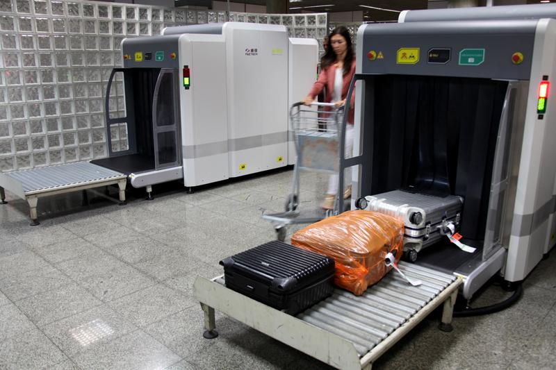 Viajante e bagagem