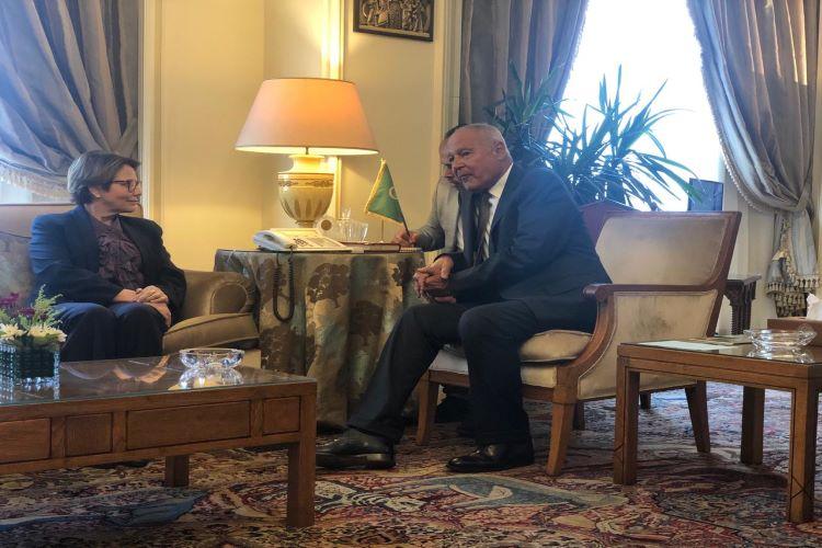 Ministra e Liga Árabe