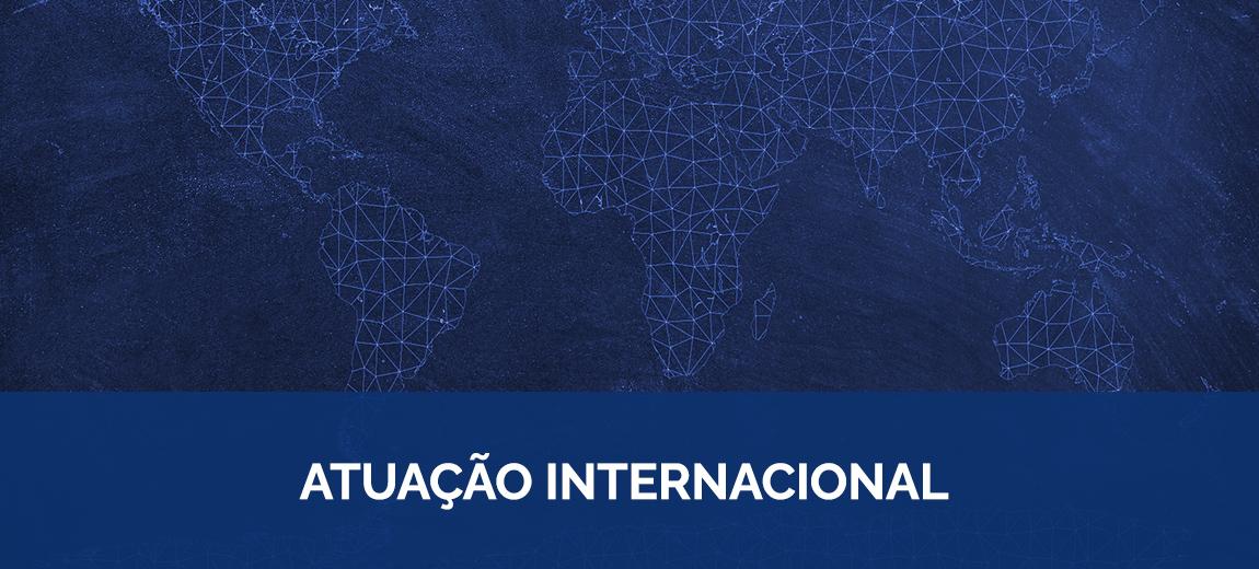 atuação internacional