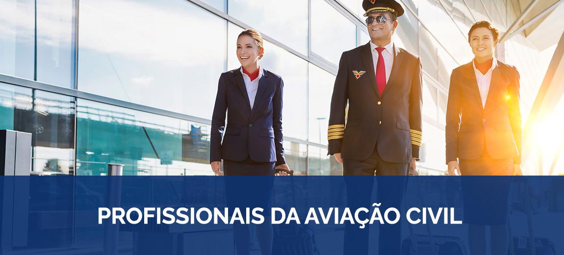 profissionais da aviação civil