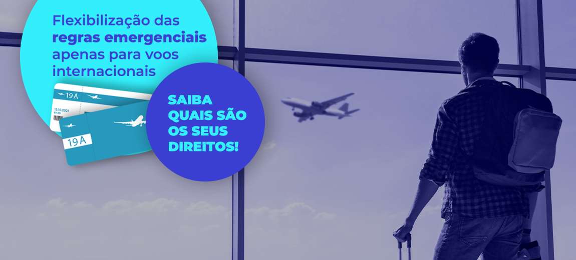 Flexibilização de regras do transporte aéreo é prorrogada para voos internacionais