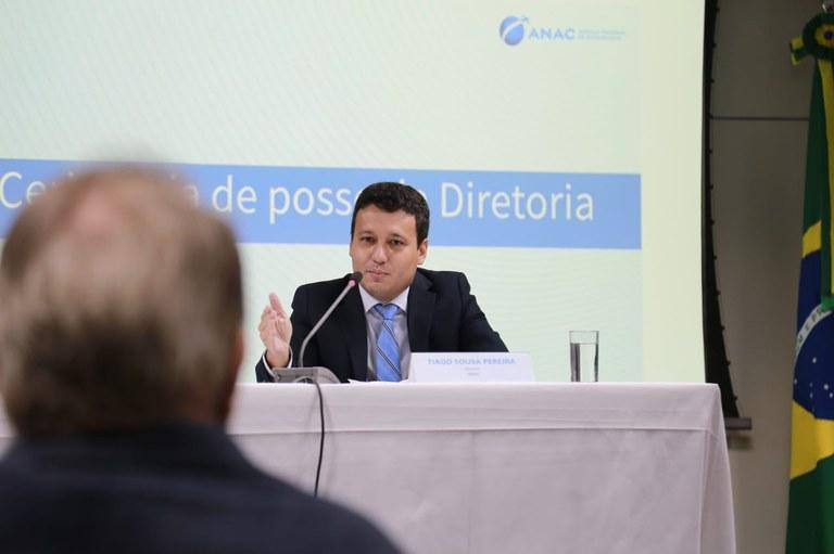 Tiago Pereira toma posse como Diretor da ANAC