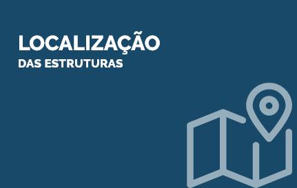 Localização das estruturas