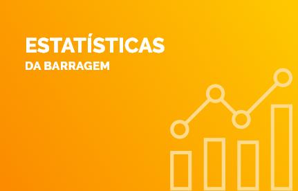 Estatísticas da barragem