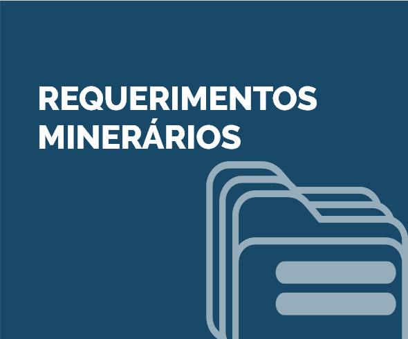 Requerimentos Minerários