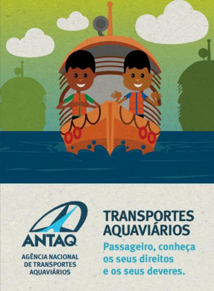 Desenho de barco com passageiros