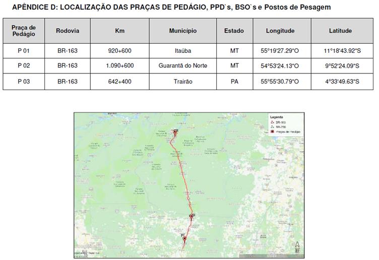 ANTT aprova edital de concessão do Mato Grosso ao Pará 8