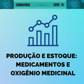 Produção e estoque de medicamentos