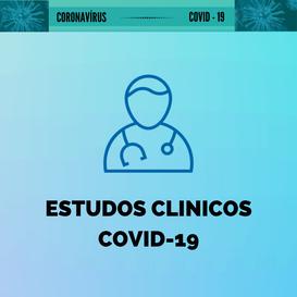 Ensaios clínicos com medicamentos aprovados para prevenção ou tratamento da Covid-19