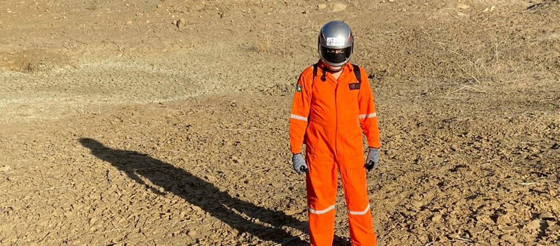 Habitat Marte: uma estação de pesquisa sobre o planeta vermelho no sertão