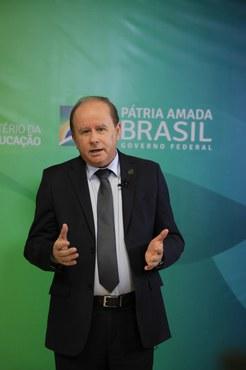 Presidente da CAPES, Benedito Aguiar (Foto: Naiara Demarco - CCS/CAPES)