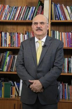 Ministro da Educação, Milton Ribeiro (Foto: Naiara Demarco - CCS/CAPES)