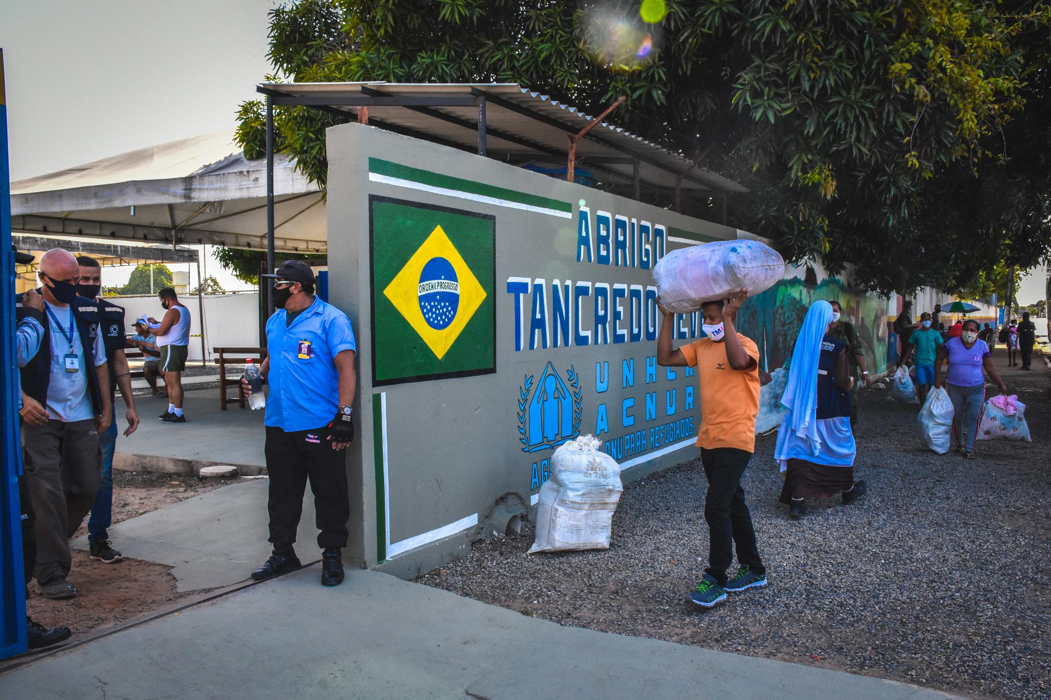 ABRIGAMENTO EMERGENCIAL TEMPORÁRIO