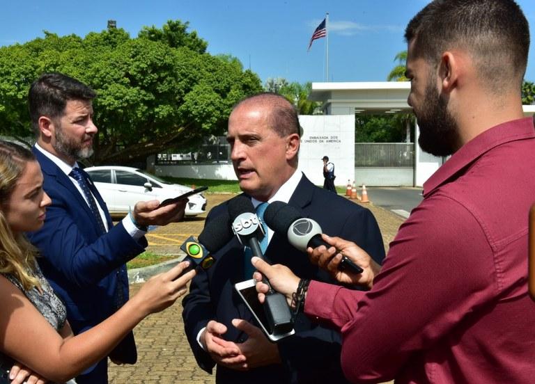 Ministro da Casa Civil vai a embaixada dos EUA agradecer apoio americano e anuncia Secretaria Especial para Acessão à OCDE