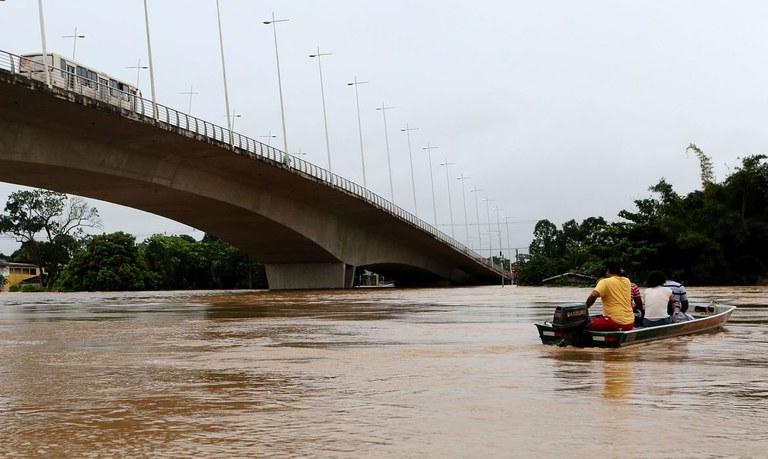 Decretado estado de calamidade pública em 10 municípios do Acre atingidos pelas Chuvas