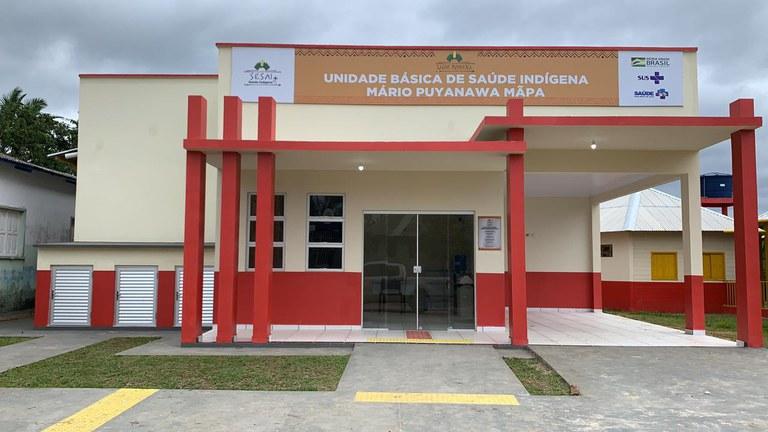 Inaugurada Unidade Básica de Saúde Indígena no Distrito Sanitário Alto Rio Juruá (AC)