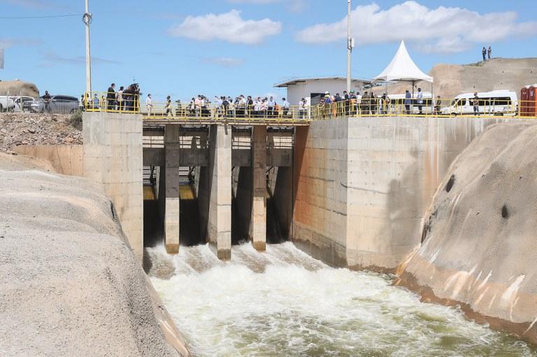 Repassados mais de R$ 46 milhões para obras no Cinturão das Águas do Ceará