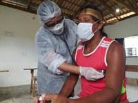 O objetivo da ação é proporcionar às Equipes Multidisciplinares de Saúde Indígena (EMSI) e às populações indígenas locais, boas condições de atendimento de saúde