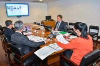 Essa foi a terceira reunião Reunião Ordinária do Comitê Gestor da Infraestrutura de Chaves Públicas Brasileira (CG ICP-Brasil)