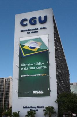 Sede da CGU em Brasília/DF