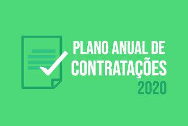 Plano Anual de Contratações 2020