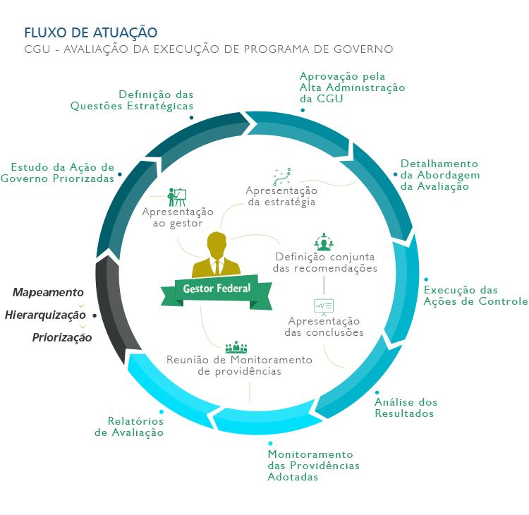 Fluxo de Atuação - Avaliação da Execução de Programa de Governo