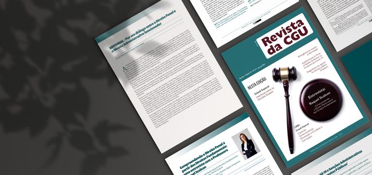 Revista da CGU: 23ª edição publica 11 artigos inéditos sobre prevenção e combate à corrupção
