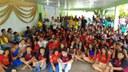 Entrega da premiação a escola vencedora do CDR - categoria Mobilização- Escola Cidadã - Itabuna-BA