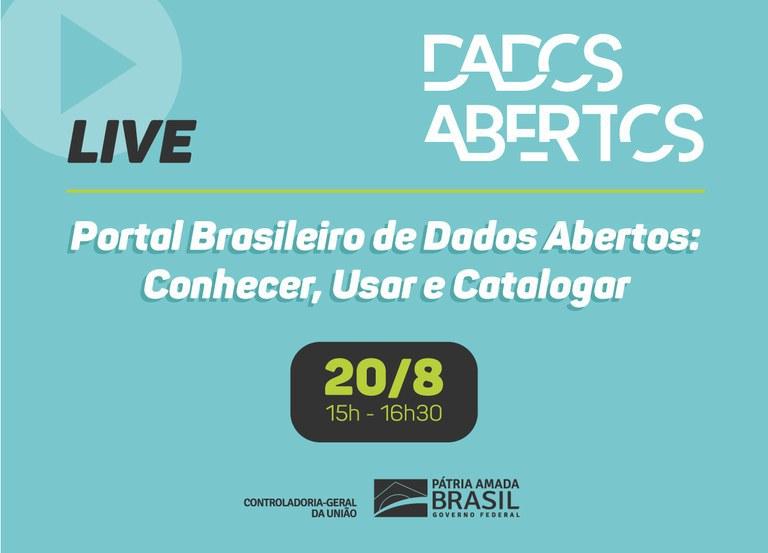Portal Brasileiro de Dados Abertos: Conhecer, Usar e Catalogar