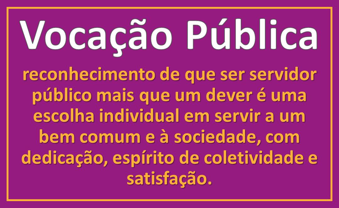 Vocação Pública