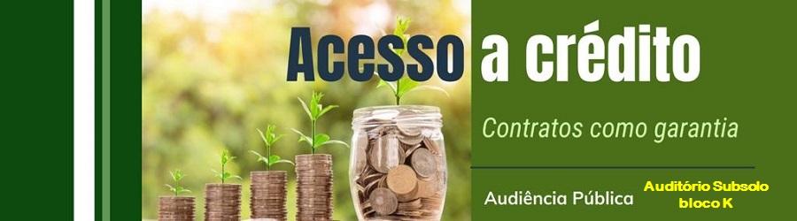 Debate com instituições financeiras sobre antecipação de recebíveis