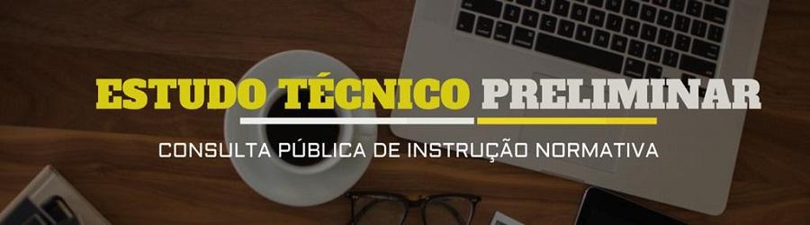 Consulta Pública da minuta de Instrução Normativa sobre Estudo Técnico Preliminar (ETP)