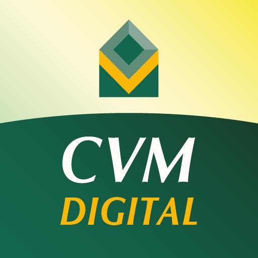 imagem logo aplicativo cvm digital