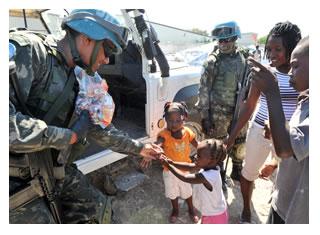 - homenagem militares mantenedores da paz em missões da ONU