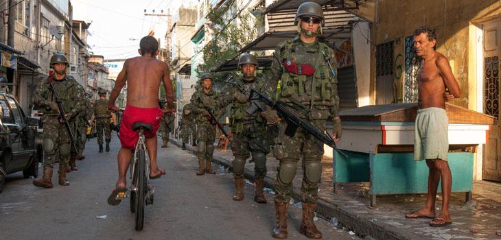 Forças Armadas ocupam o Complexo da Maré desde abril de 2014: Garantia da Lei e da Ordem