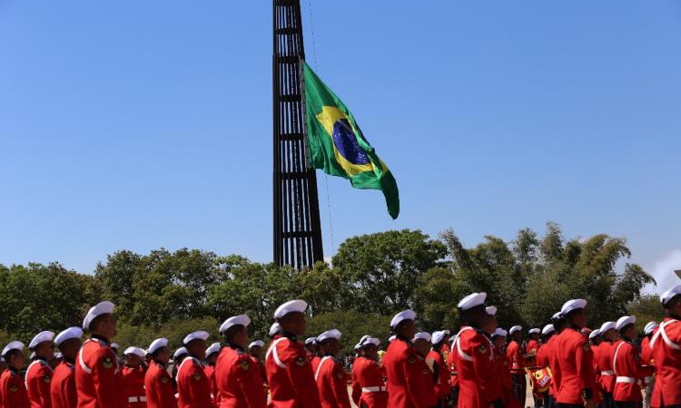 O público poderá prestigiar a apresentação da Banda Marcial do Corpo de Fuzileiros Navais