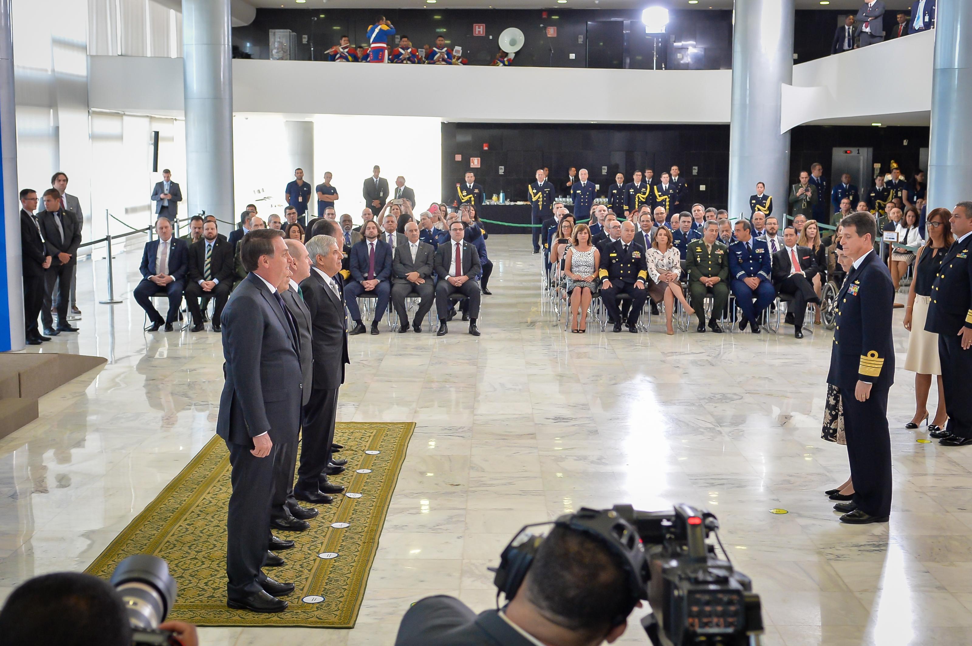 Cerimônia no Palácio do Planalto