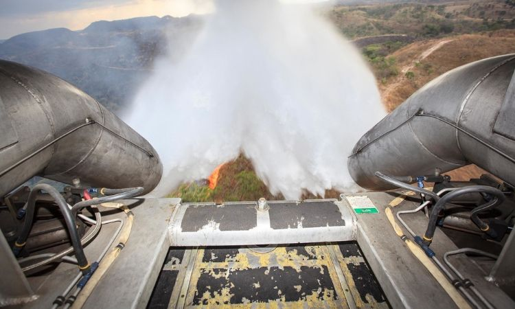 Foto ilustrativa: Aeronaves Hércules C -130 da Força Aérea Brasileira vão reforçar combate aos incêndios na Amazônia