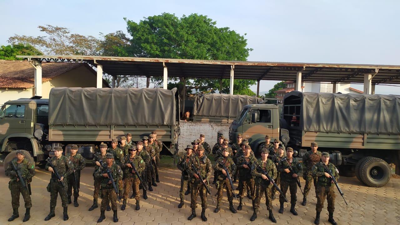 Base de São Félix do Xingu conta com cerca de 150 militares