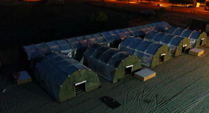 Área de Proteção e Cuidados está sendo montada em Boa Vista (SD Alvarenga))