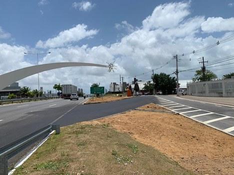 Foto 02 - Novo acesso implantado antes do Monumento dos Reis Magos -RN.jpg