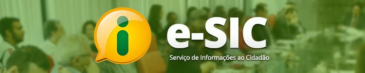 Banner do e-SIC com link para o sistema