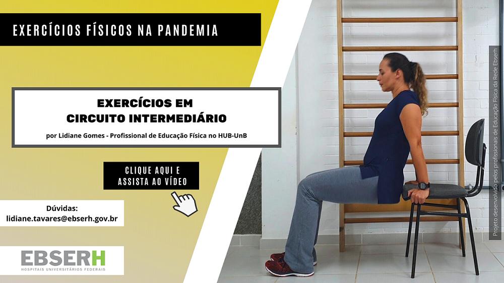 Exercícios Físicos na Pandemia