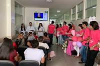 Ações foram desenvolvidas para pacientes, acompanhantes e trabalhadores