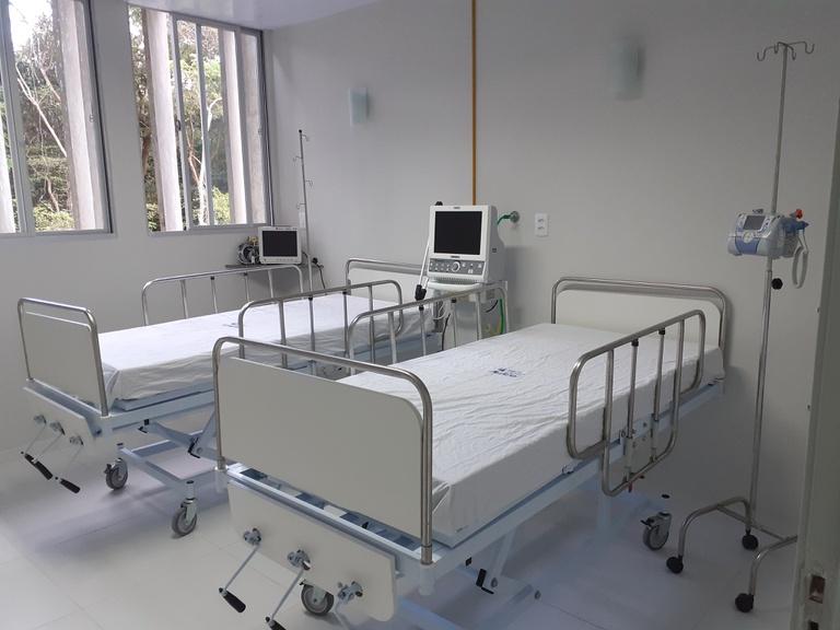 Leitos para pacientes com covid-19