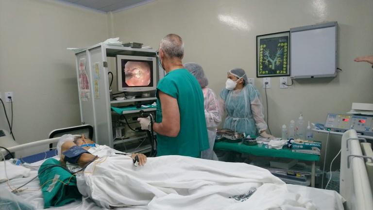 Mutirão de miotomia para tratamento da acalásia