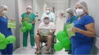 Recuperação de paciente foi festejada por profissionais do HULW-UFPB